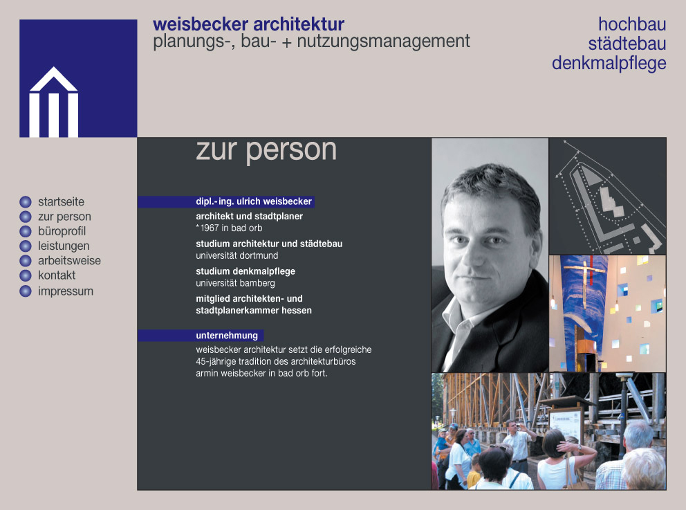 Weisbecker Architektur - Zur Person